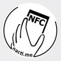 Načti.mě Touch bílý NFC štítek