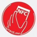 Načti.mě Touch červený NFC štítek
