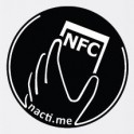 Načti.mě Touch černý NFC štítek