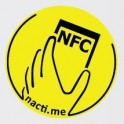 Načti.mě Touch žlutý NFC štítek