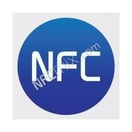 NFC modrý NFC štítek