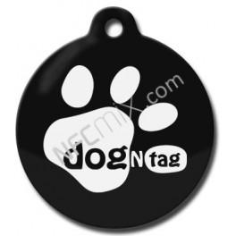 DogNTag psí známka s NFC černá