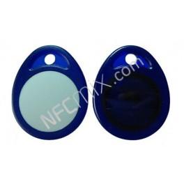 NFC klíčenka modrobílá