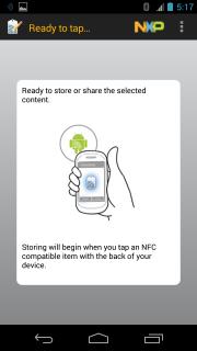 Kódovanie NFC tagov pomocou NXP TagWriter