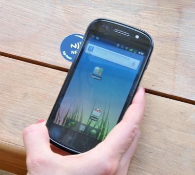 Odemknutí chytrého telefonu/tabletu pomocí NFC