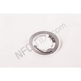 Čirý NFC tag NTAG210 kulatý