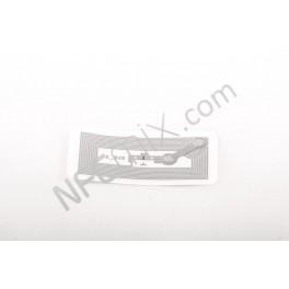 Bílý NFC tag NTAG203 obdélný