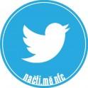 NFC štítek Twitter ptáček