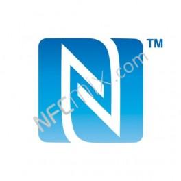 N-Mark modrý NFC štítek