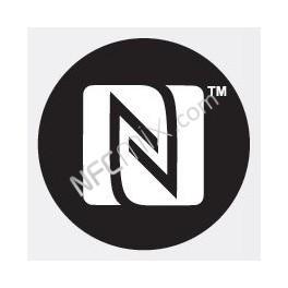 N-Mark černý NFC štítek