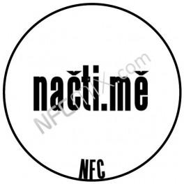 Načti.mě bílý NFC štítek