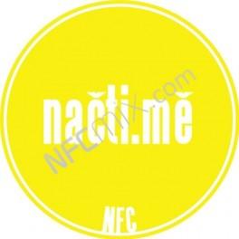 Načti.mě žlutý NFC štítek