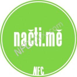 Načti.mě zelený NFC štítek
