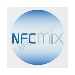 NFCmix modrý NFC štítek