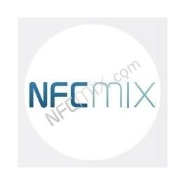 NFCmix bílý NFC štítek