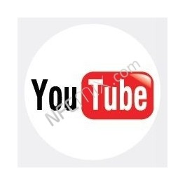 NFC štítek YouTube