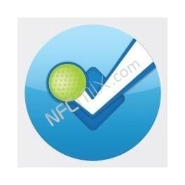 NFC štítek Foursquare