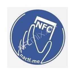 Načti.mě Touch modrý NFC štítek
