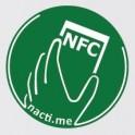 Načti.mě Touch zelený NFC štítek