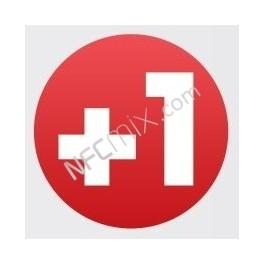 NFC štítek Google +1