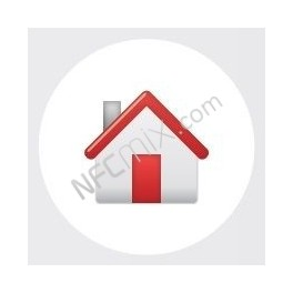 NFC štítek Domů