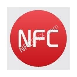 NFC červený NFC štítek