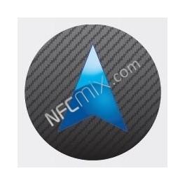 Navigace tmavá NFC štítek
