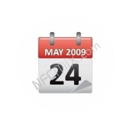 NFC štítek Kalendář