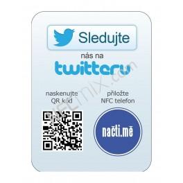 NFC štítek Twitter stránka