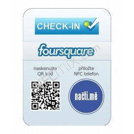 NFC štítek Foursquare Venue