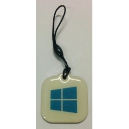 NFC přívěsek Windows Epoxy