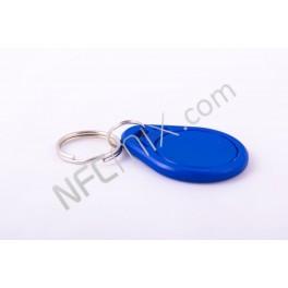NFC klíčenka obyč modrá