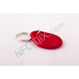 NFC klíčenka obyč červená