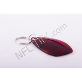 NFC klíčenka Sail červená