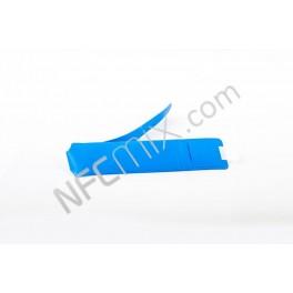 NFC náramek z PVC NTAG203 jednorázový modrý