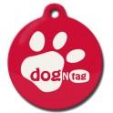 DogNTag psí známka s NFC červená