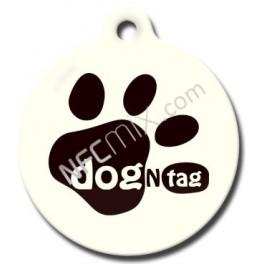 DogNTag psí známka s NFC bílá